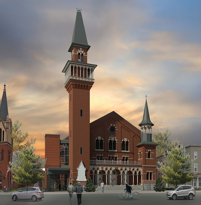 CitySpace Old Town Hall rendering